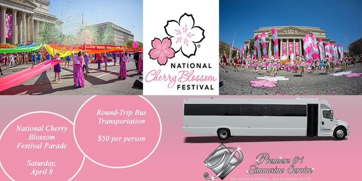Happy First Day of Spring! The cherry blossoms are blooming and Capitol Hill is prepping for the National Cherry Blossom Festival Parade on April 8th! Join Premiere for our bus trip to the event! Get your tickets online at the link below. #CherryBlossomFestival #BusTrips
