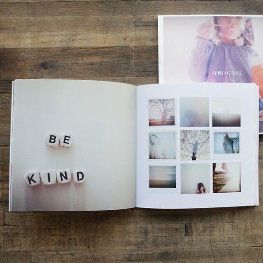 DIY Instagram photo book via Artifact Uprising