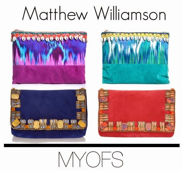 MYOFS: Tribal clutch: Where to get #matthewwilliamson #tribalclutch