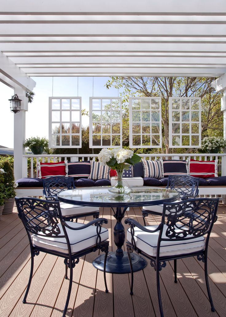 42 best images about new deck ideas on pinterest diy for Decorated decks and patios