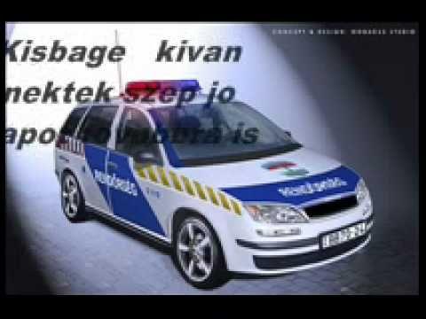 Bunyós Pityu - Rendőrnő