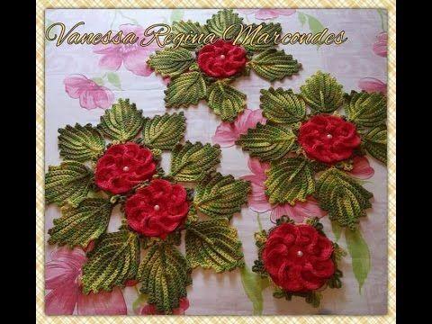 Folhas De Crochê Para Aplicação - Jogo de Banheiro Nº03 - YouTube