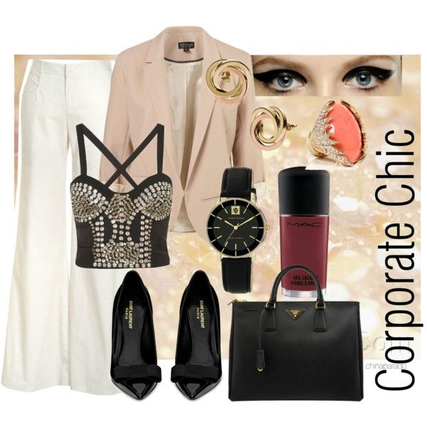 """Corporate Chic"" by chinaparado on Polyvore"