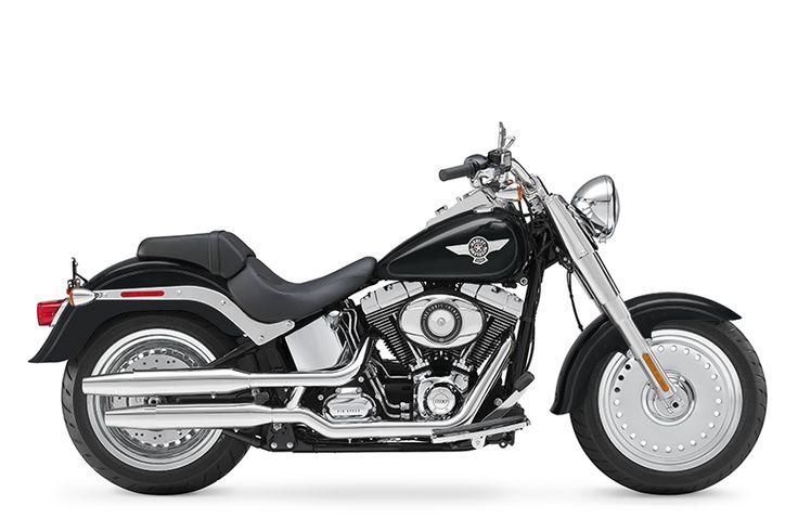 Win a 2014 Harley Davidson Fatboy!