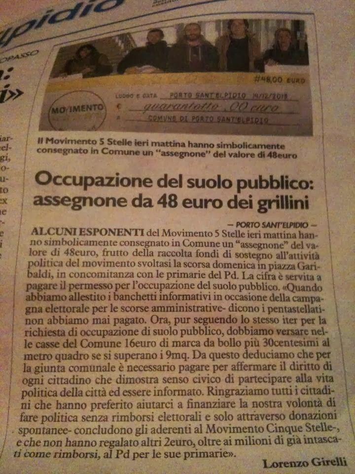 Incontra il MoVimento: SOStienici: la Campagna Donazioni dei 5 Stelle..