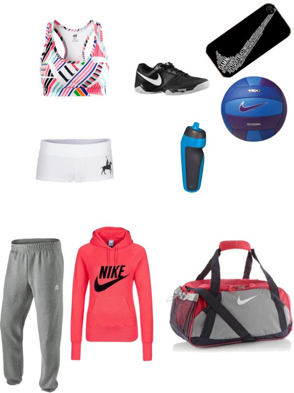 """""""Volleyball Practice"""" by hannah-garrett-1 ❤ liked on Polyvore"""