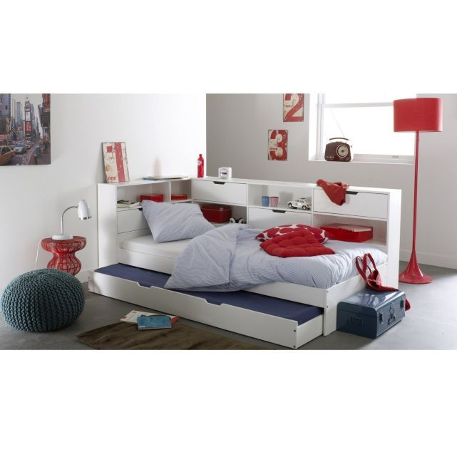 1000 ideas about lit avec tiroir on pinterest lit tiroir lit tiroir and lit tiroir ikea - Camif bed frame ...