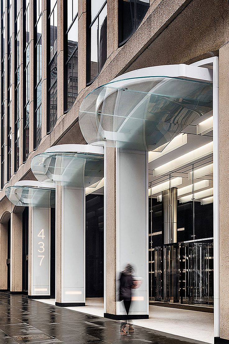 437 Madison Is A Building Blocks From Grand Central In New York City Fogarty Finger Architecture Was Hired To Re Position The Entire By Upda