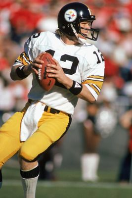Everyone always felt confident that the Steelers could win when Bradshaw dropped back to pass.
