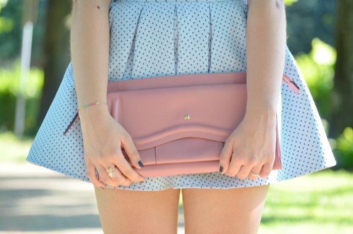 #skirt #pois #blue #pink #bonton #fashion #summerlook #outfit #moda #fashionblogger #luciapalermo #vogueforbreakfast #streetstyle #mosh #bershka #outfitideas