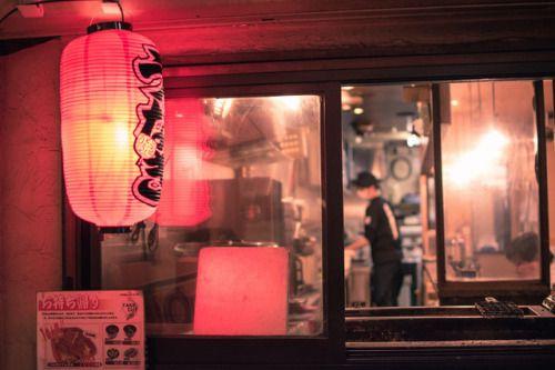Nakano - Tokyo, Japan  Tags: Nakano Tokyo Japan night lantern restaurant unagi nikon d5500