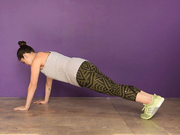 Prancha com abre e fecha de pernas   Nove exercícios de cardio para quem odeia correr e quer queimar calorias