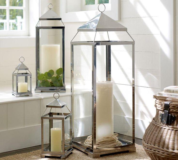 Malta Lantern - Silver | Pottery Barn AU