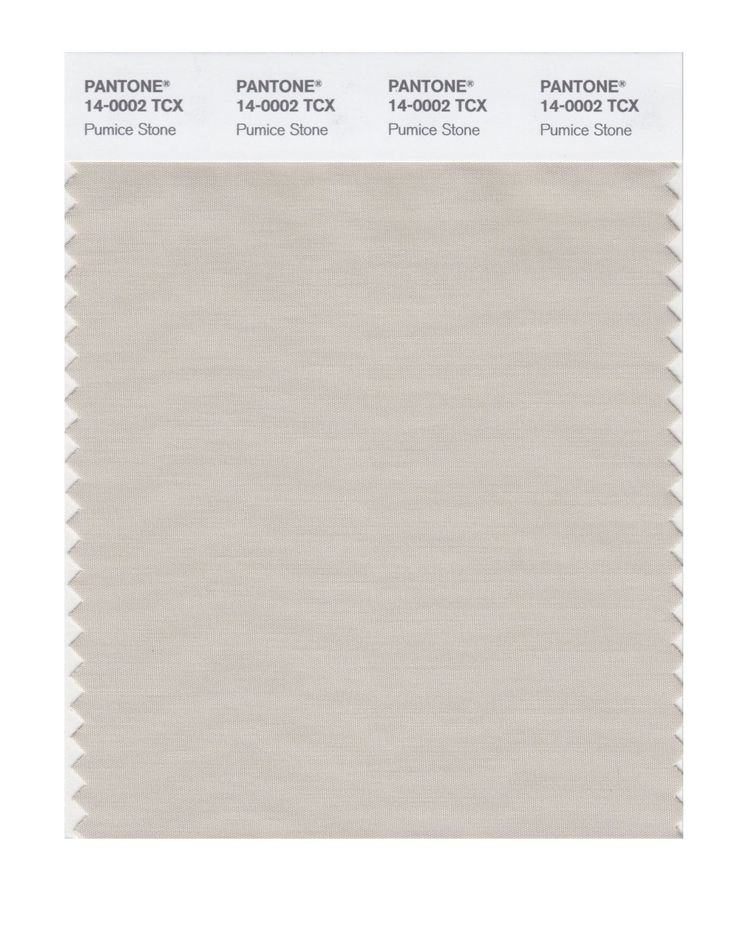 Pantone Smart Swatch 14-0002 Pumice Stone, grey neutral for Light Sprig.