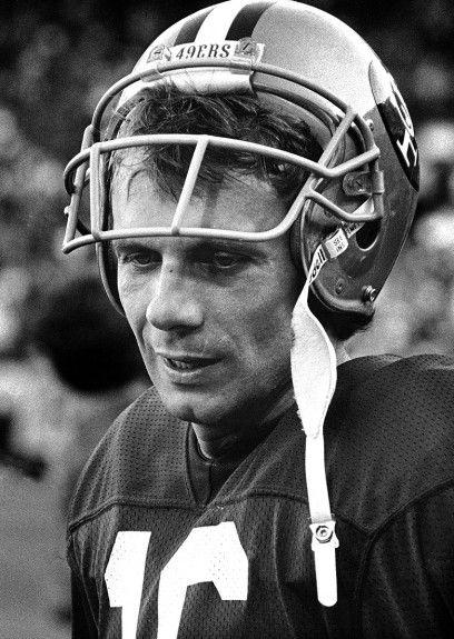 Joe Montana cuando lo conocí.... <3 por él amo el american football.