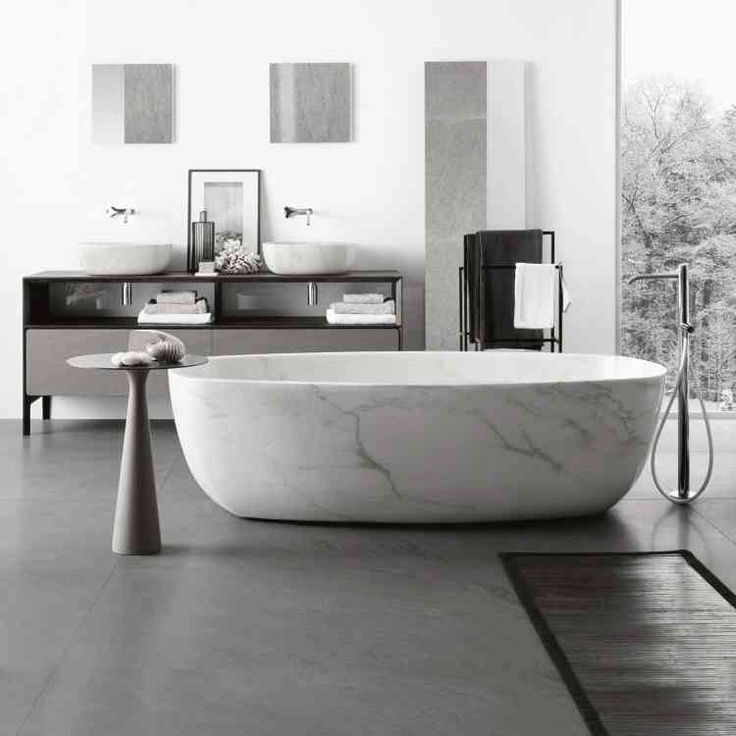 Inkstone Bathtub by Neutra from Pure Interiors |