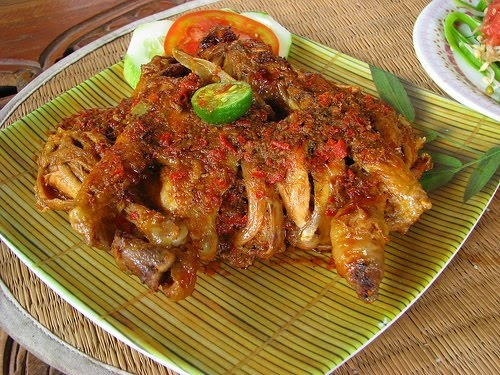 Ayam bakar betutu- Bali