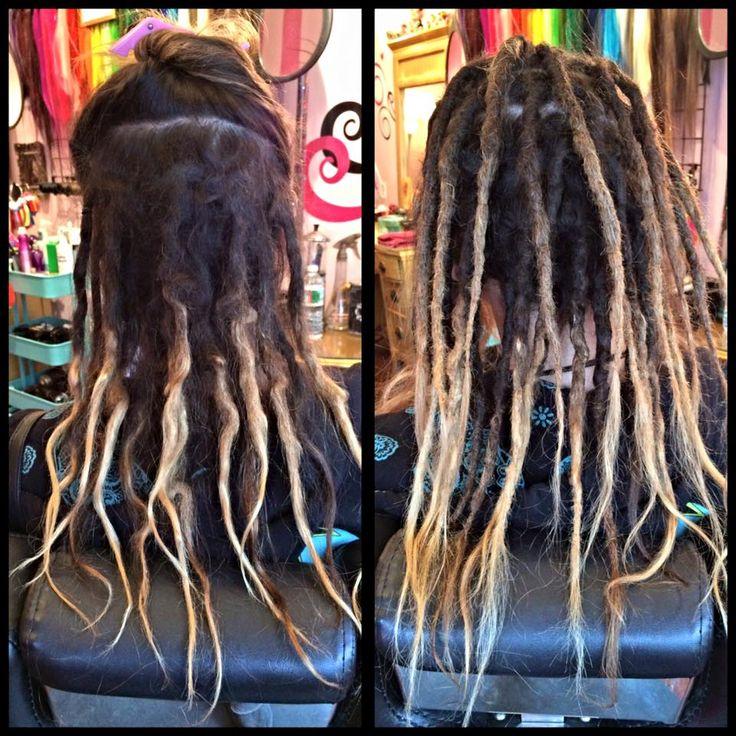 Rebel Rebel Organic Hair and Dreadlock Salon   Dreadlocks, natural crochet dreadlocks, dreadlock salon philadelphia, women with dreadlocks, ombre dreadlocks