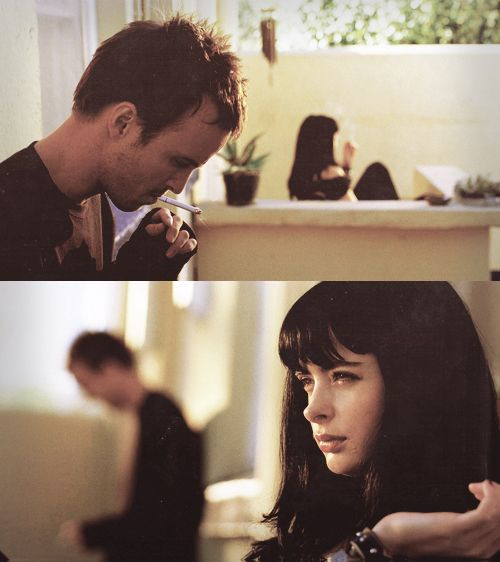 Aaron Paul and Krysten Ritter ..please make me thr middle of your sandwich