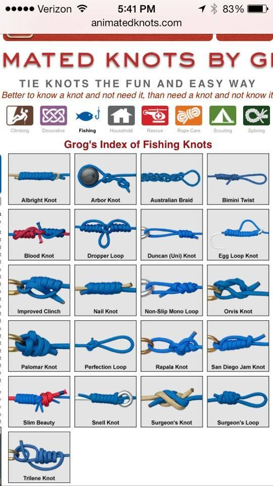 17 best images about fishing ideas on pinterest fly for Fly fishing knots