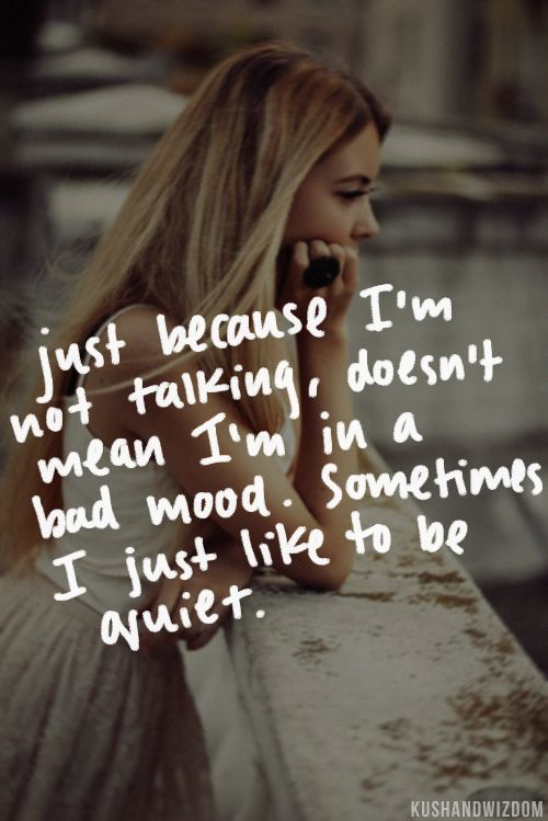 Story of my life...I wish people would understand this about me...