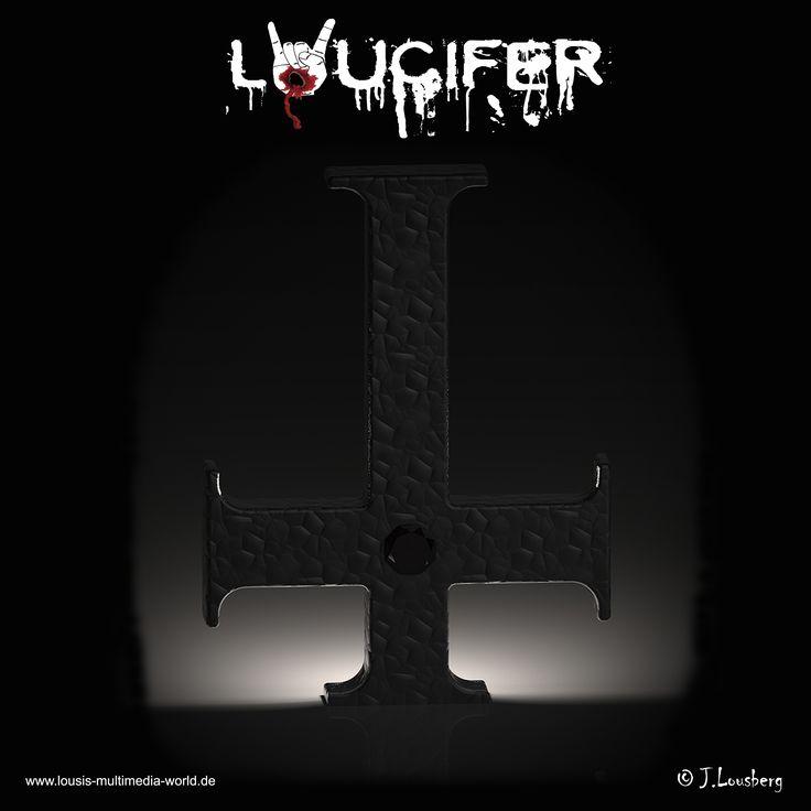 #Loucifer #Kreuz #cross #Lousberg #3D #Satan #666 #Teufel