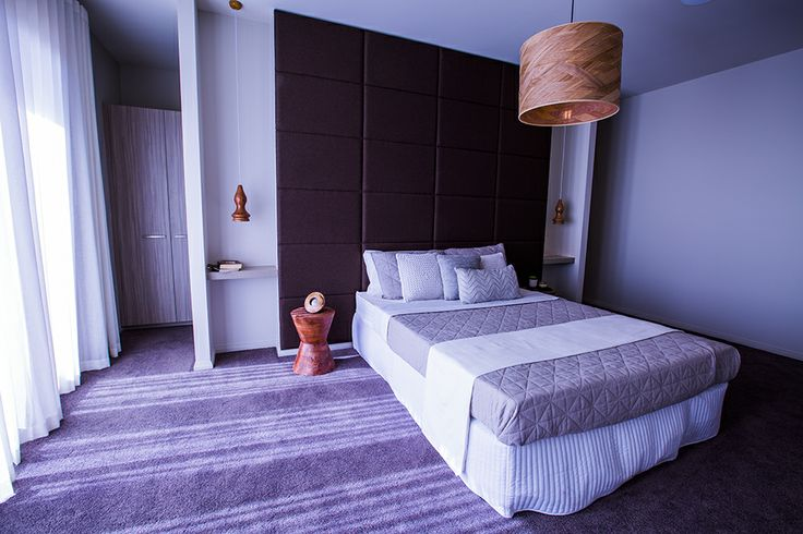 This master bedroom is bathed in beautiful, soft, natural light spilling in from the balcony. #weeksbuilding #bedroom