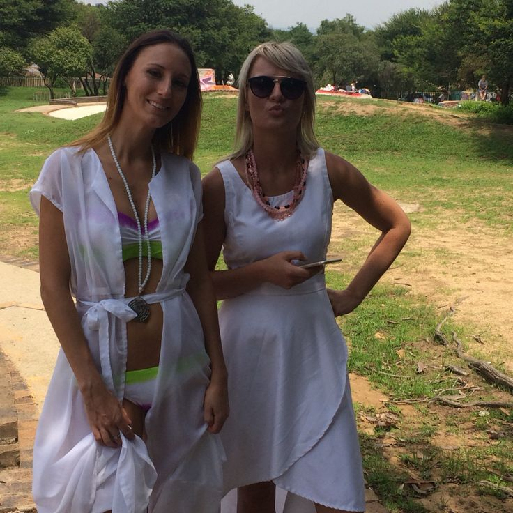 Lovely models at my shoot! Elemental emporium  Clothing  Outfit  Trend  White  Johannesburg