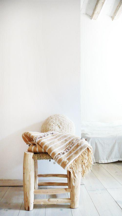 Image of Small Handira - Vintage Moroccan Wedding Blanket