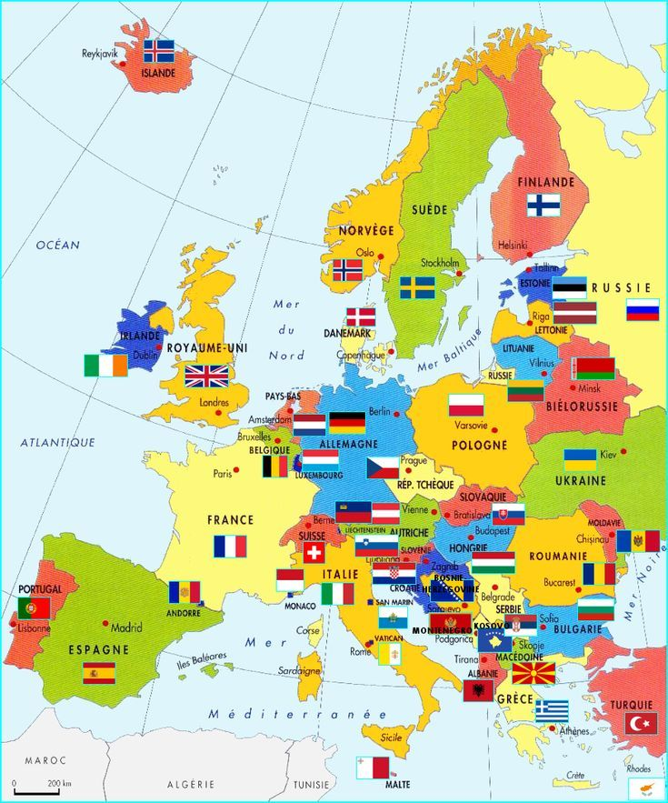 pays d europe
