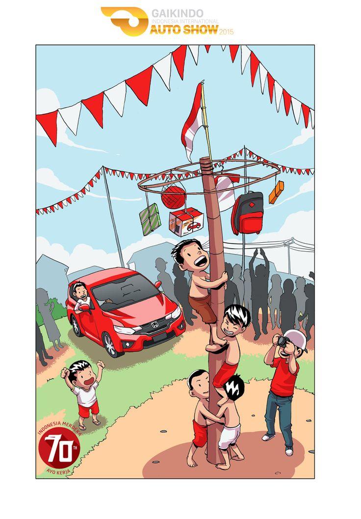 Dirgahayu Republik Indonesia Ayo teruskan perjuangan bangsa. Rayakan hari kemerdekaan dengan semangat perjuangan. ✊⚡️    #70thRI #GAIKINDO #AutoShow #GIIAS2015 #ICE_BSDCITY #meme #theartofautomotive