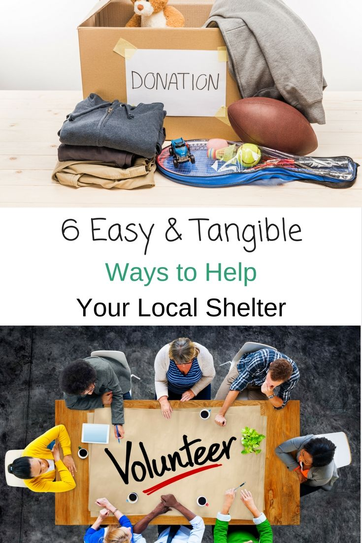 Easy ways to help your local shelter. These are all so great, good for the workplace too!