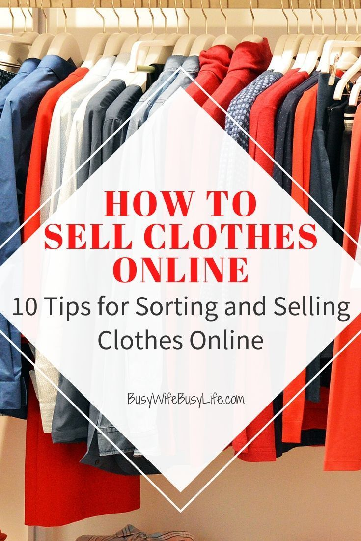 How to Sell Clothes Online - 10 Tips