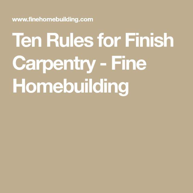 J Mark Kitchen Cabinetry 8 Light Rail Molding: Best 25+ Finish Carpentry Ideas On Pinterest