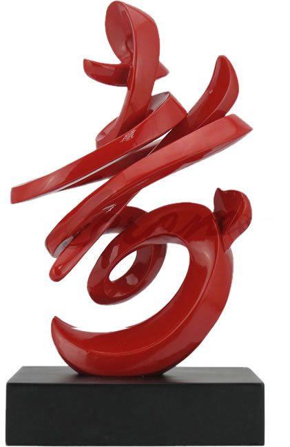 Chinese Calligraphy-Longevity Statue