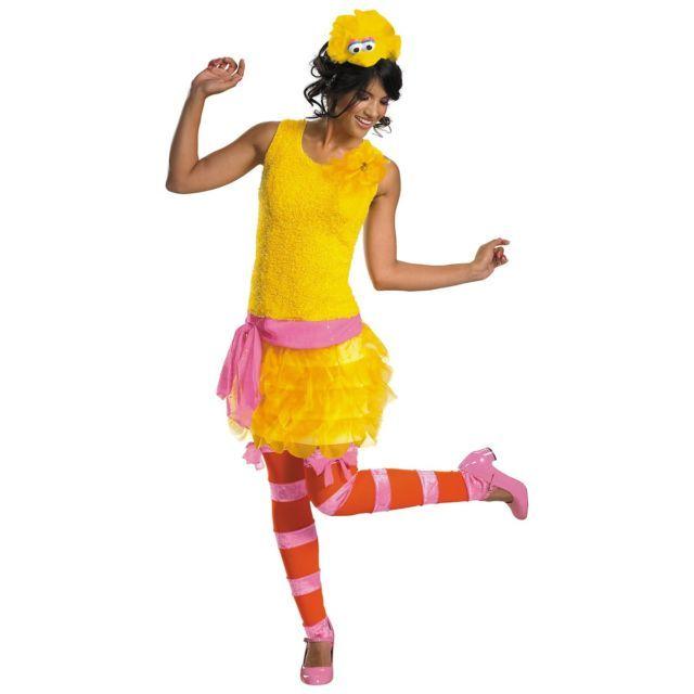 Big Bird Sassy Muppets Costume Sesame Street Halloween Fancy Dress | eBay