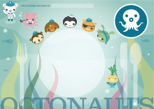101 best Octonauts birthday images on Pinterest Birthdays