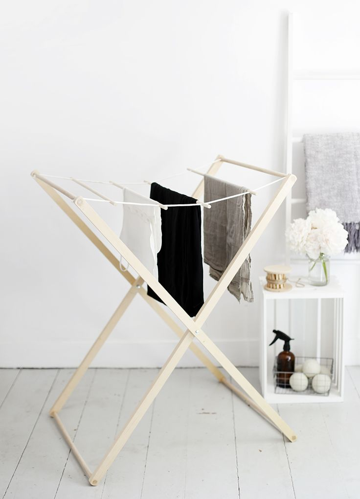 DIY Drying Rack @themerrythought for @homedepot