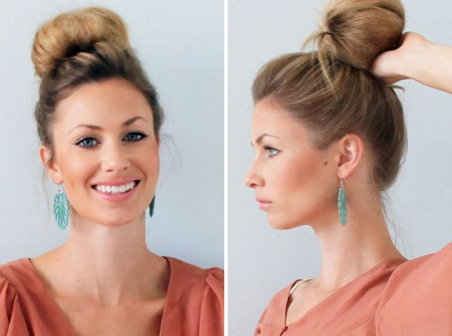The Top Knot: 28 Gorgeous DIY Hairstyles
