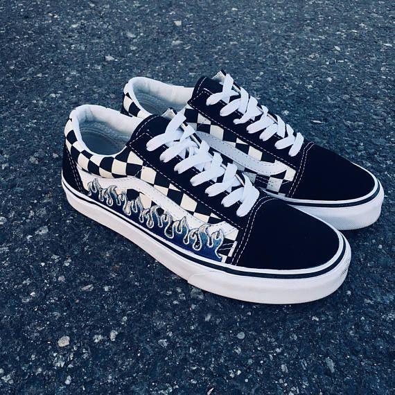 237aa1ff0c6 custom vans vans shoes pianted vans personalized vans rose
