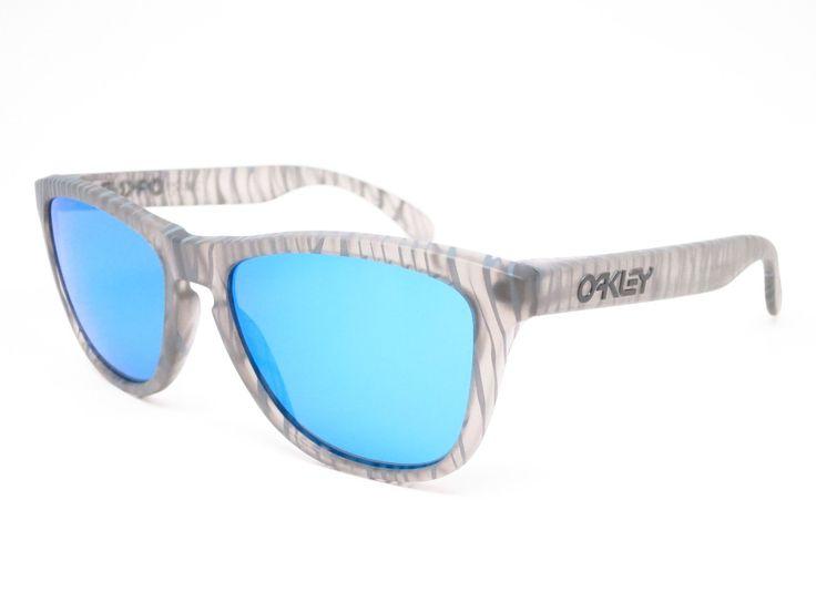 Oakley Frogskins OO9013-68 Matte Grey Sunglasses