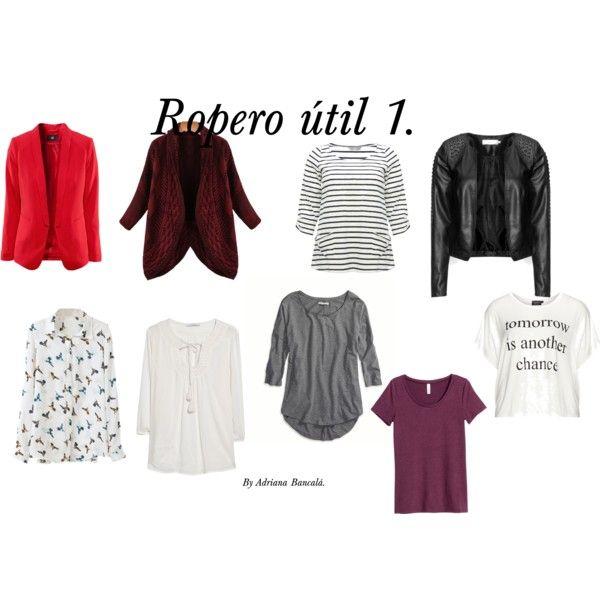 ROPERO UTIL 1 Querés armar tu cápsula de ropa ideal? Y además que sea en tus colores favorecedores?: https://www.facebook.com/bazardelacoloracionpersonal?ref=hl