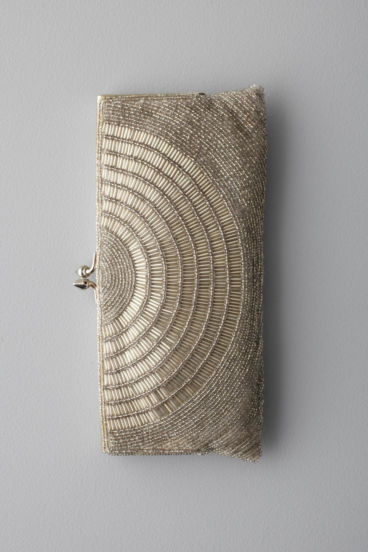 Deco Beaded Clutch from BHLDN