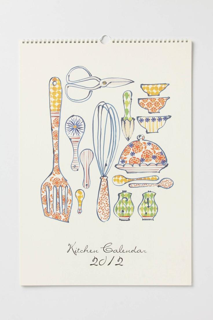 Kitchen Calendar Design : Images about tea towel designs on pinterest