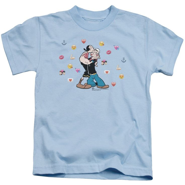 "Checkout our #LicensedGear products FREE SHIPPING + 10% OFF Coupon Code ""Official"" Popeye / Love Icons-short Sleeve Juvenile 18 / 1-light(4) - Popeye / Love Icons-short Sleeve Juvenile 18 / 1-light(4) - Price: $24.99. Buy now at https://officiallylicensedgear.com/popeye-love-icons-short-sleeve-juvenile-18-1-light-4"