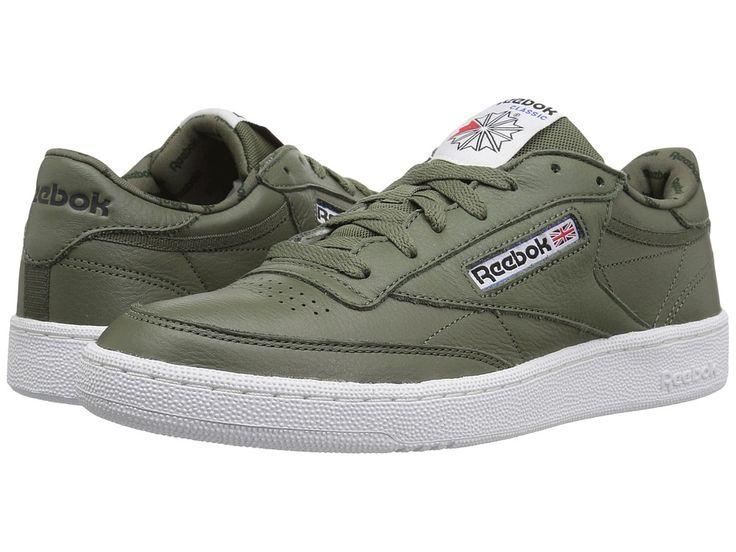 Reebok Lifestyle Club C 85 SO Men's Shoes Hunter Green/Primal Red/Black/White/Vital Blue