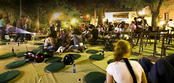 Nighttime activities in Barcelona - Poble Espanyol