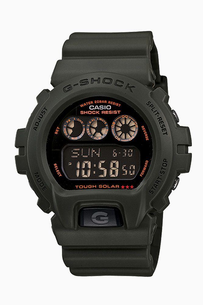 g-shock - 6900 solar military series watch (green) - G Shock | 80's Purple $96 w/ code: cyber30