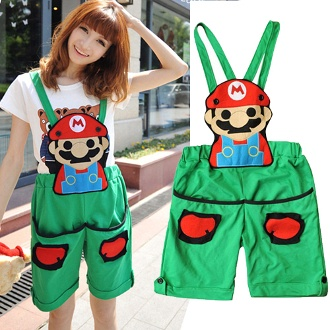 Its Mario! Wear this cute overall and celebrate Nintendo's most recognized character!
