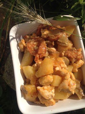 Cuisine ma ligne poulet au chorizo ww 7pp recettes for Cree ma cuisine en ligne